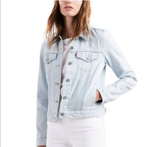 Levi's Light Blue Denim Jean Jacket